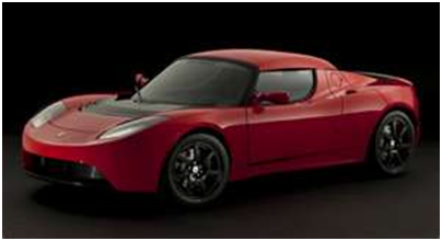 Tesla Roadster: 244 mile range | Currently sold out in North America. Possible 2014 model