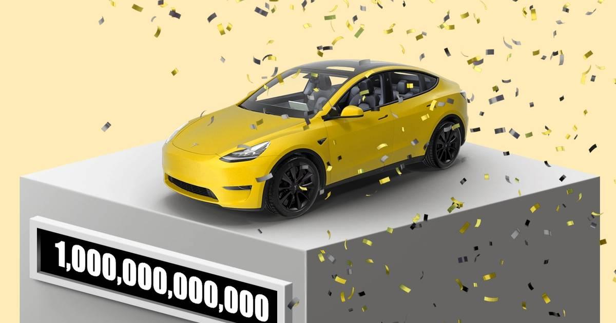 Tesla hits $1 trillion dollar market cap after Hertz order