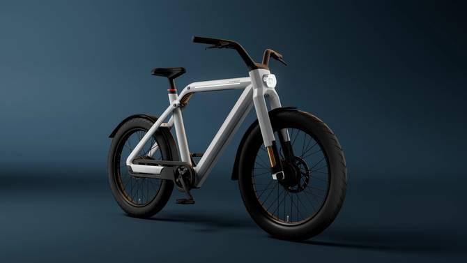 A depiction of the VanMoof V e-bike
