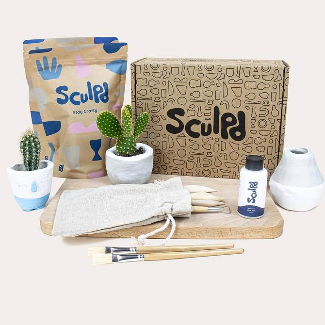 Sculpd At Home Pottery Kit