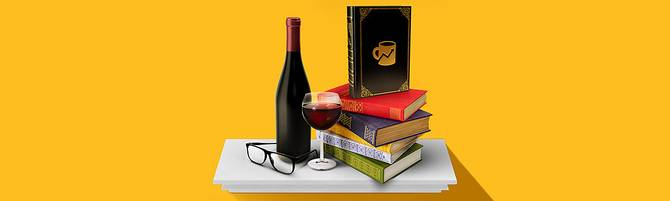 Brew's bookshelf promo image