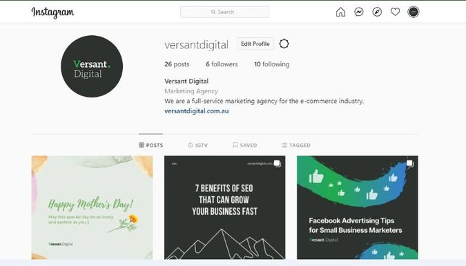 create a good Instagram bio