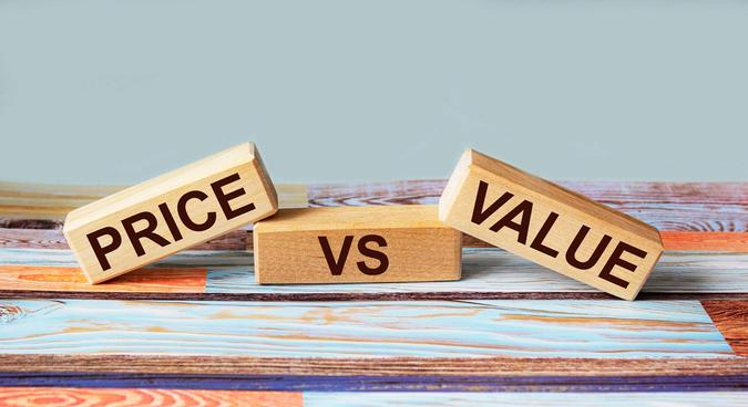 Product differentiation: value is more important than the price