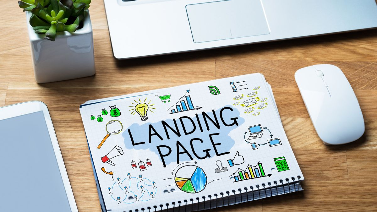 Use a landing page to promote your services