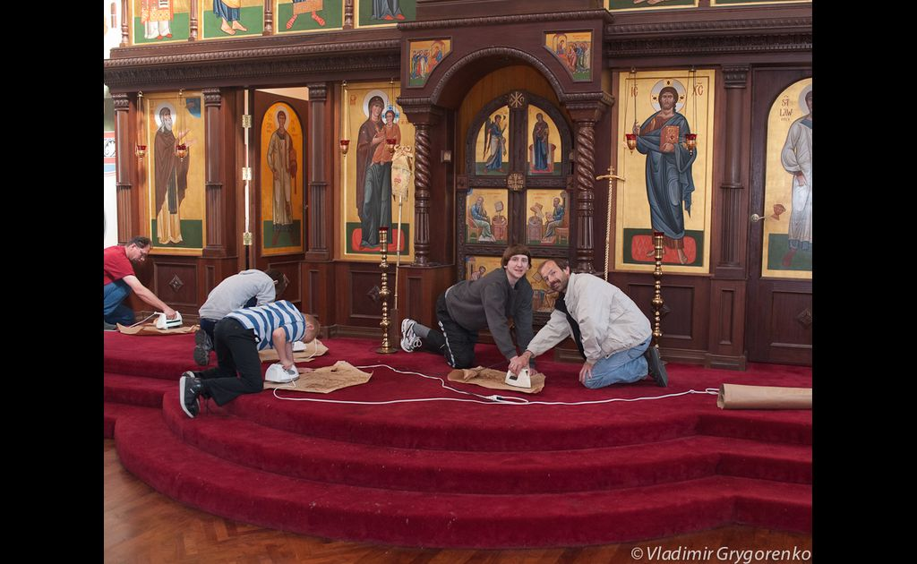 Altar Cleaning