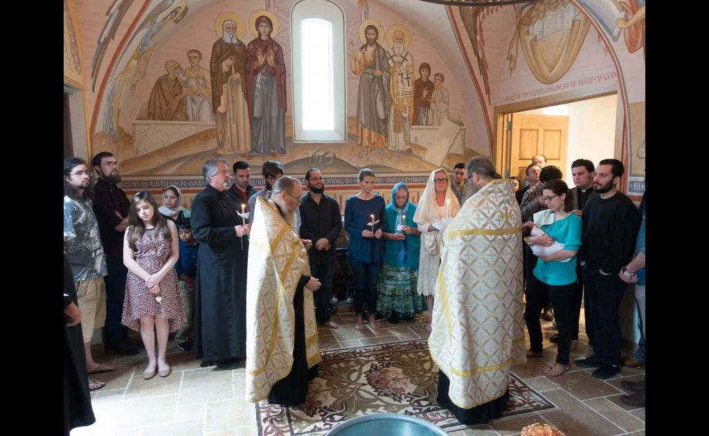 Baptism in the Chapel