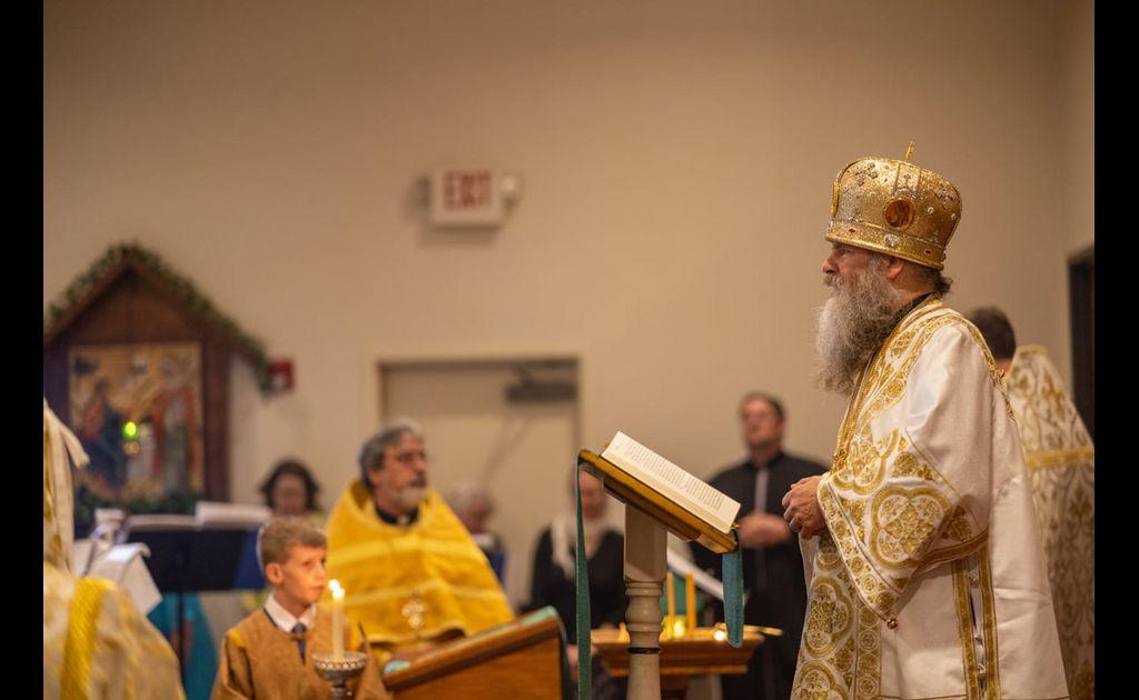 The Enthronement of Bishop Gerasim