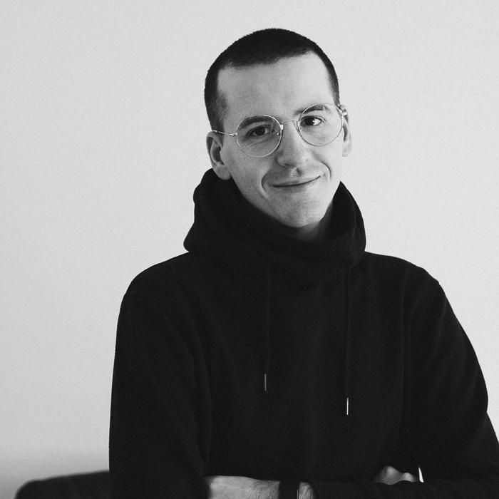 Portrait photograph of Lukas Strociak