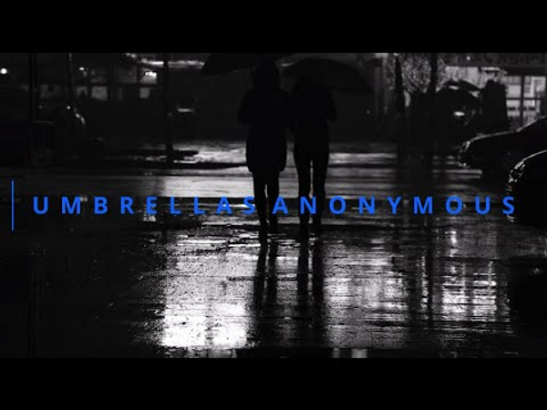 Poster for the film Umbrellas Anonymous