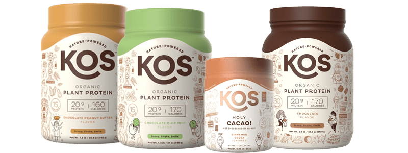 Plant-based Chocolate Products from KOS