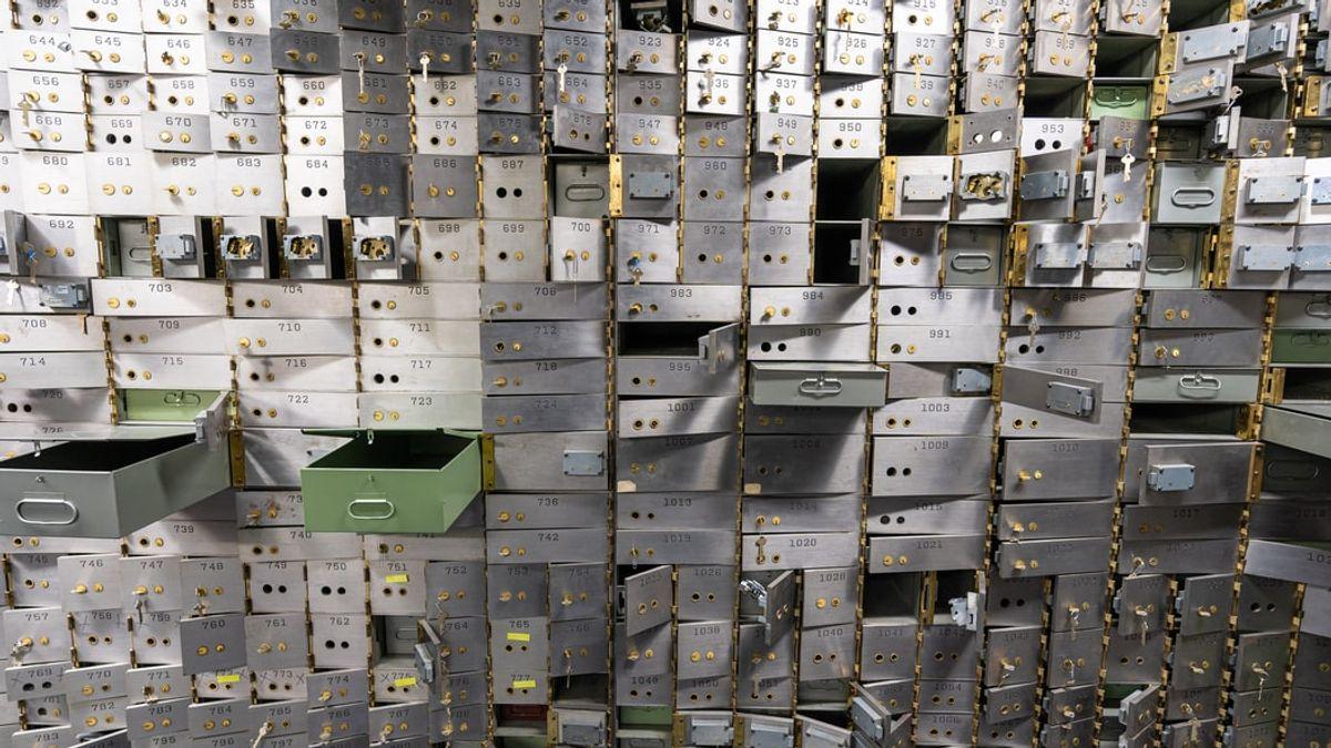 empty vault room