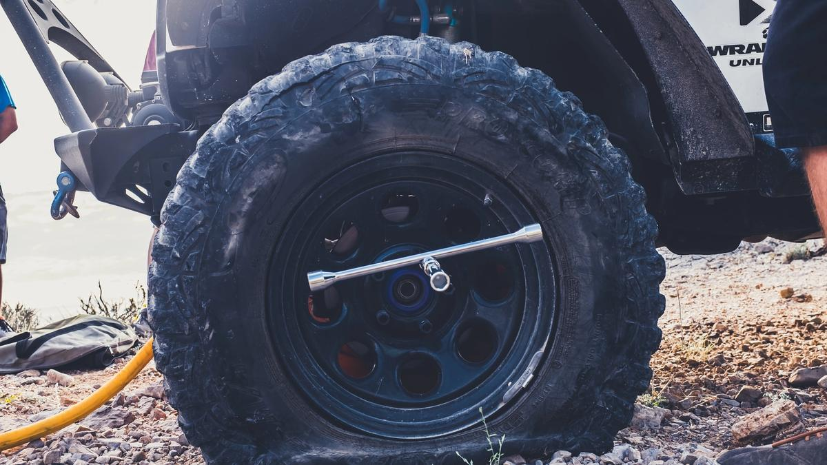 Flat tire, a financial one