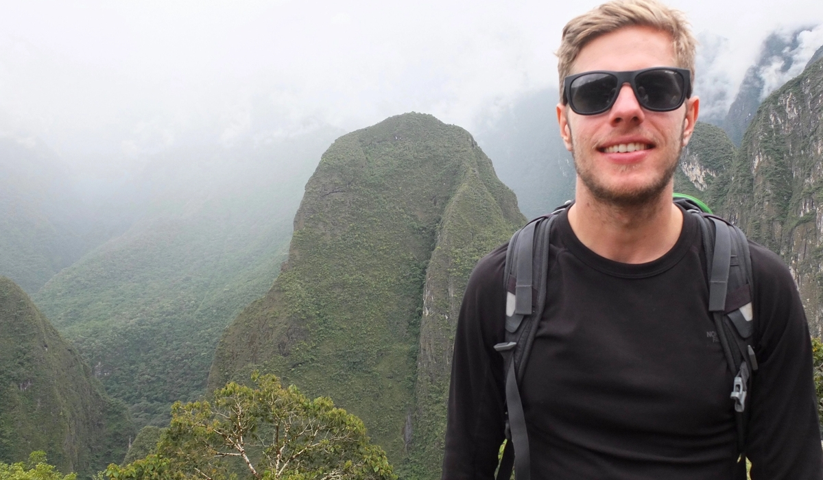 Combining work with backpacking