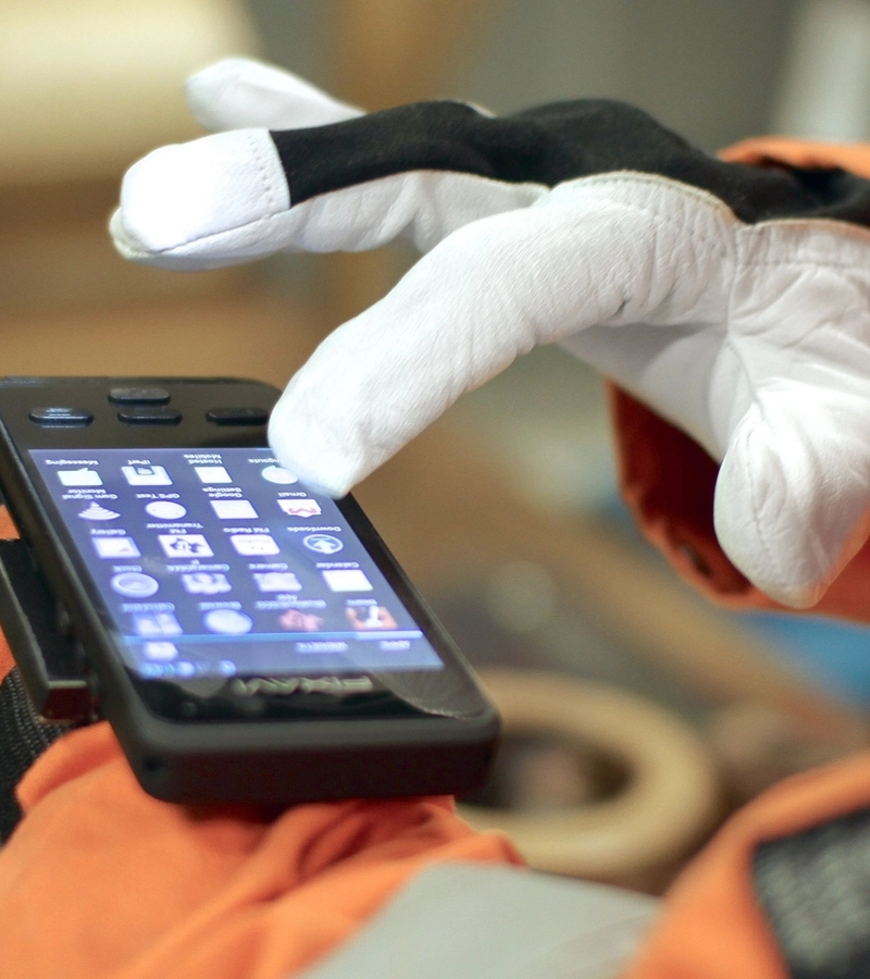 The EX-certified smartphone