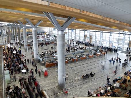 Aiming to be Europe's best airport