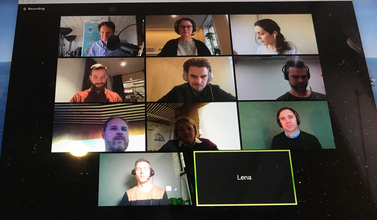 Collaborating remotely on work tasks increases productivity