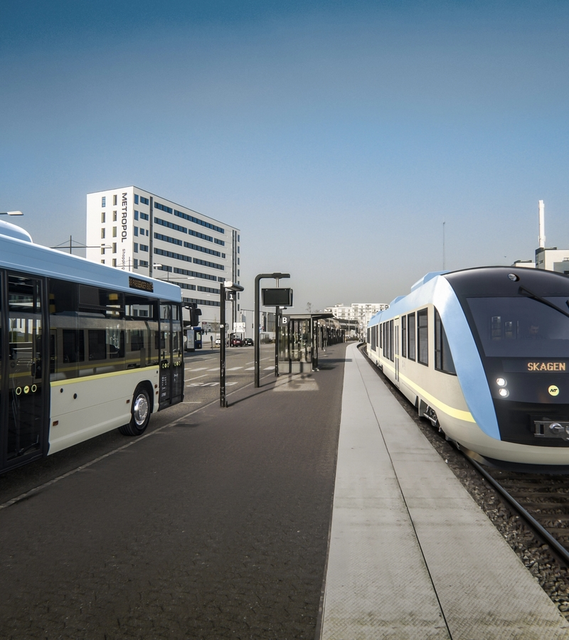 Making public transport easier with a stronger identity