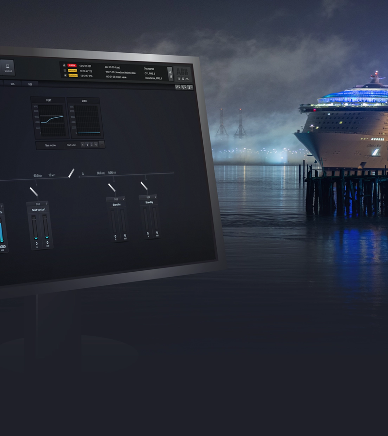 Powering the world's biggest ship