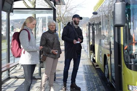 Next generation ticketing for public transport
