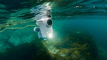 The world's first consumer ocean drone