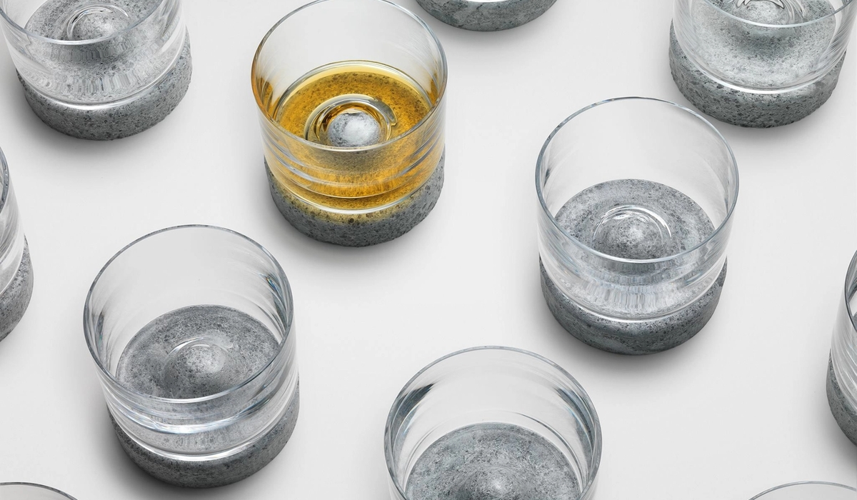 Tundra whisky glass