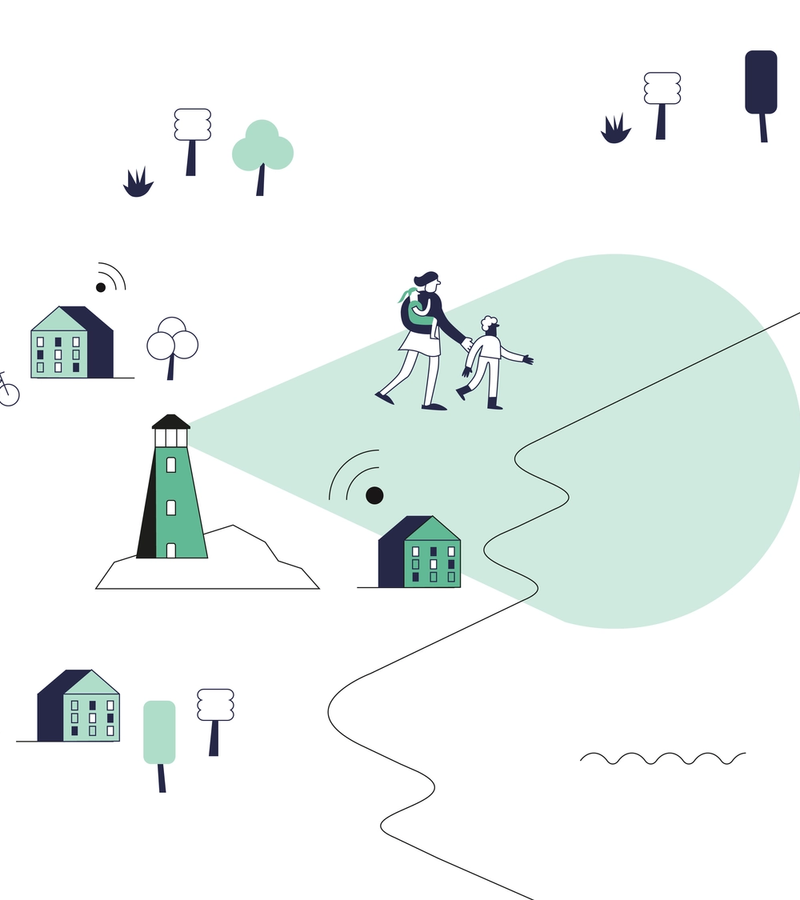 We're on a mission to create smart and sustainable connected living