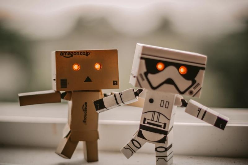 Robots work, people rule