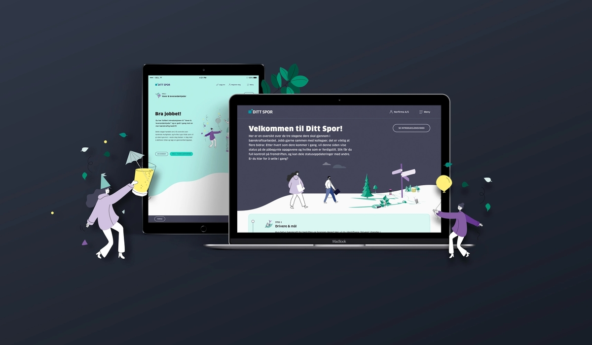 Ditt Spor – business tool for taking sustainable action