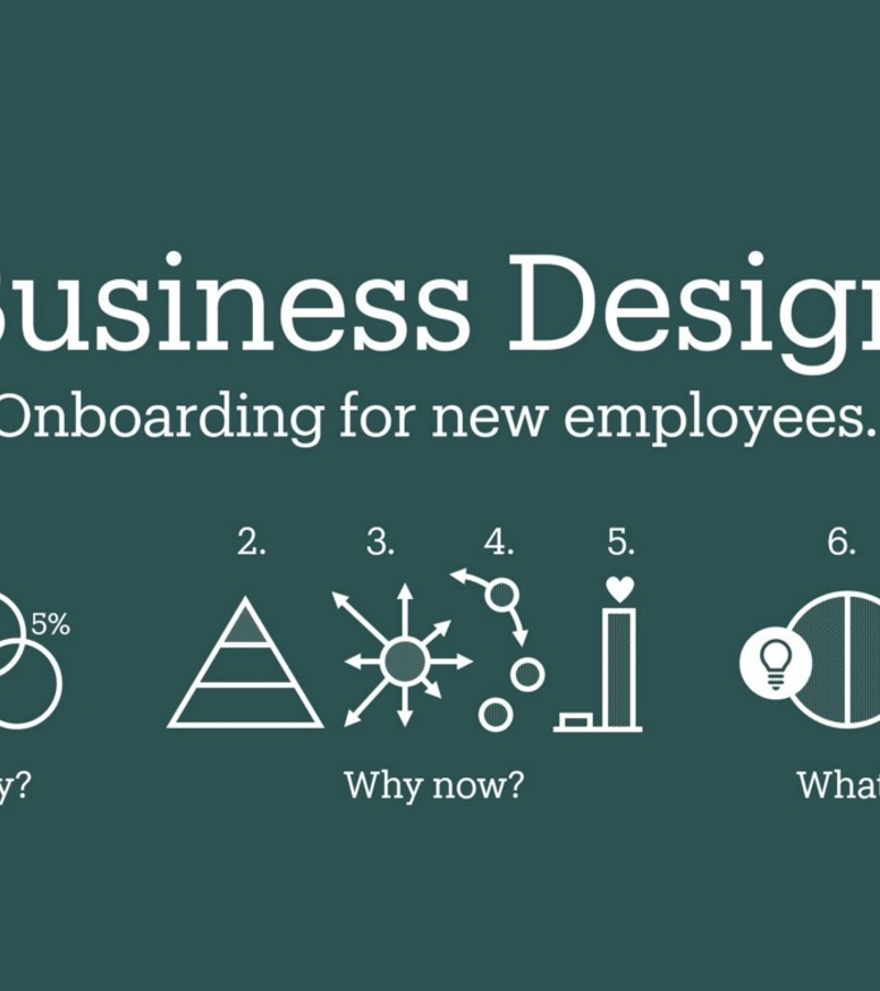 How we onboard new creatives in business design