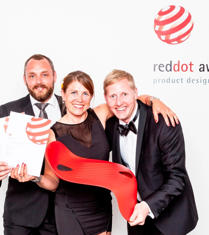 Gigseat awarded with Red Dot