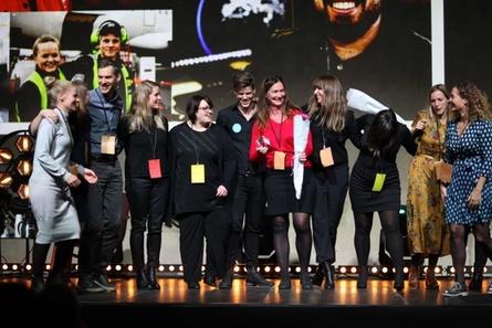 EGGS wins 5 awards