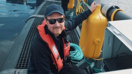 Meet Espen A. Jørgensen – our Head of Ocean Space in EGGS