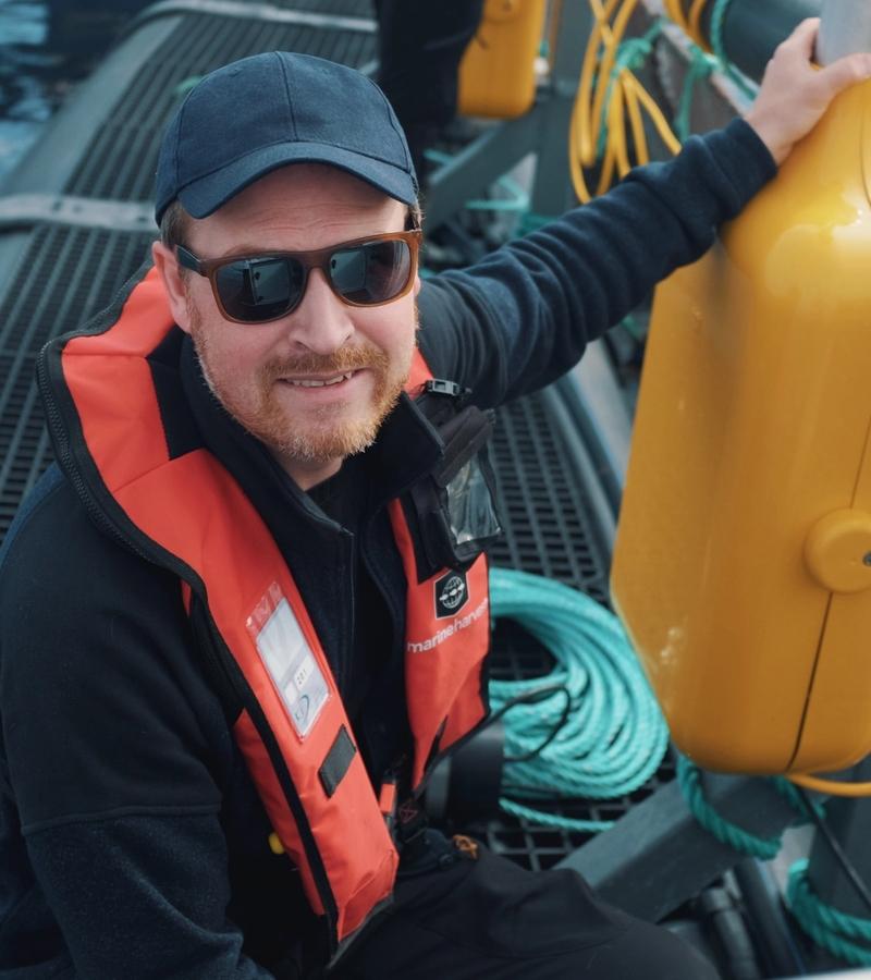Meet Espen A. Jørgensen – our Head of Ocean