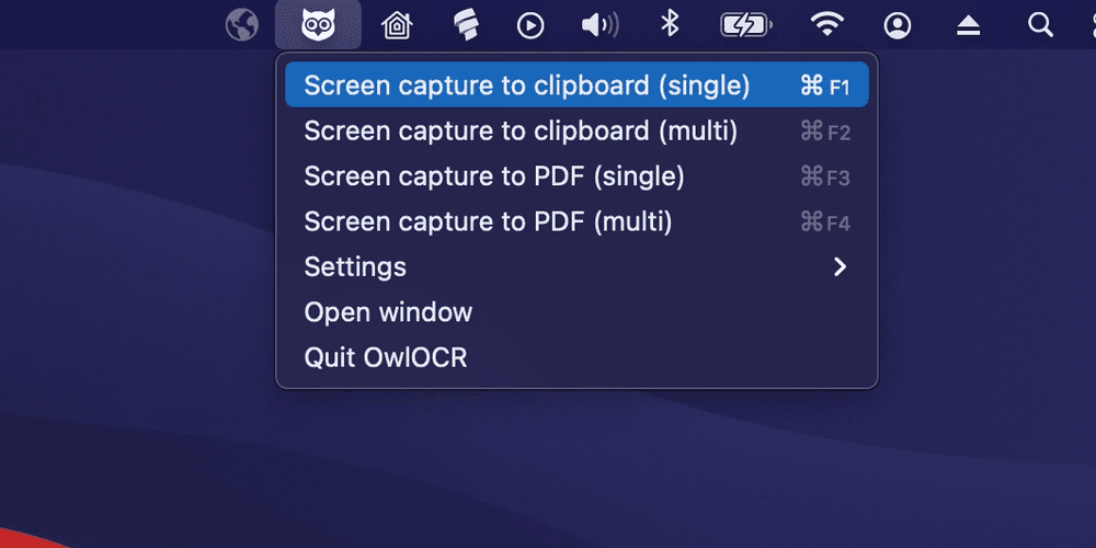 Cover Image for How can I use OCR to capture text from the Mac screen?