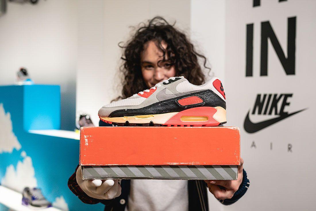 Nike Dylan Raasch Juliana Sagat Air Max 90 Verona Design Release Date Interview Sneaker Freaker9