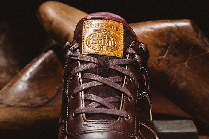 Wolverine Saucony Shadow Original Horween Leather 4
