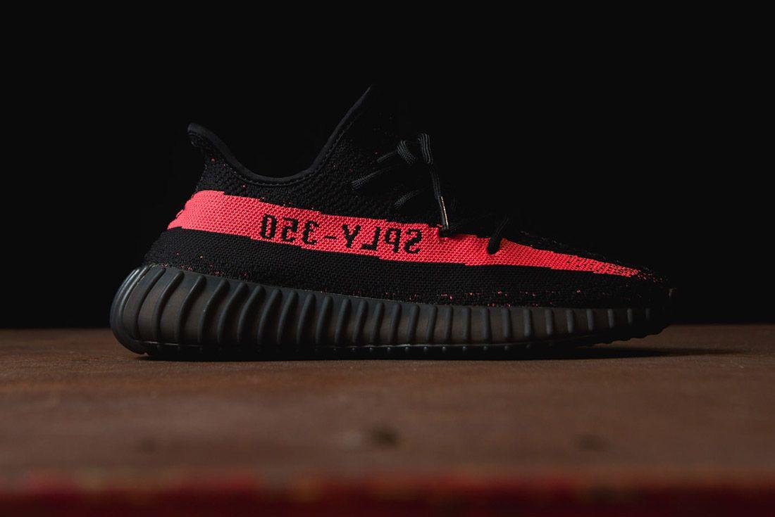 Adidas Originals Yeezy Boost 350 V2 Black Copper Solar Red Green 62