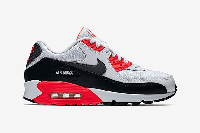 Bright Crimson Nike Air Max 90 Essential 1