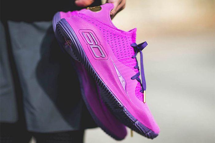 Under Armour Curry 4 Purple Sneaker Freaker