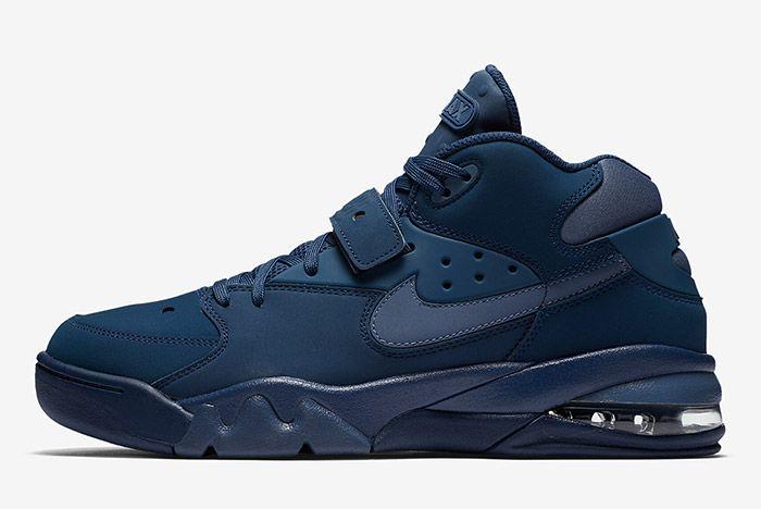 Nike Air Force Max Navy Sneaker Freaker