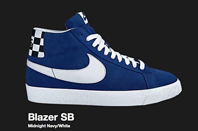 Nike Midnight Navy Blazer Sb 2007 1