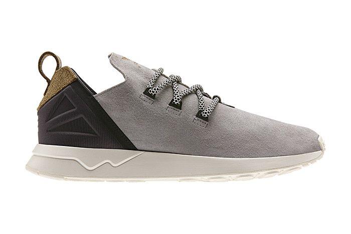 Adidas Zx Flux Adv X Grey Suede 2