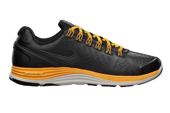 Nike Lunarglide 4 Nsw Mens Running Shoe Black Side 1
