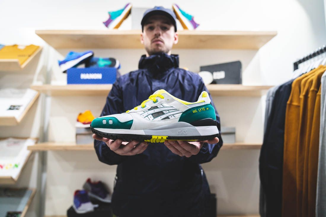 Asics Gel Lyte Iii Hanon Thomas Lindie Interview Hero