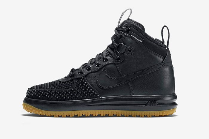 Nike Lunar Force 1 Duckboot Black 4
