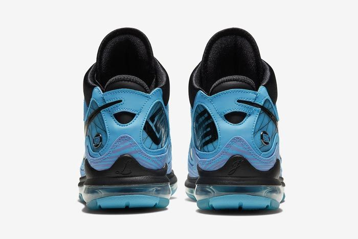 Nike Lebron 7 All Star Chlorine Blue Heels