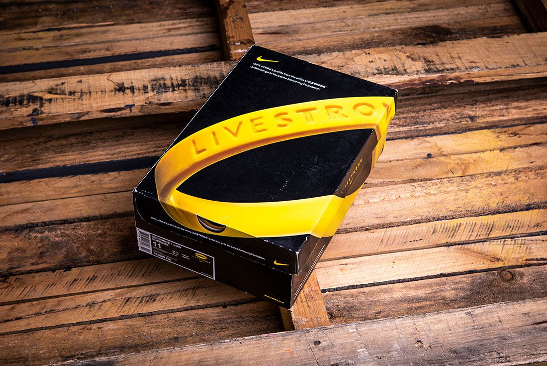 Nike Livestrong Shoebox