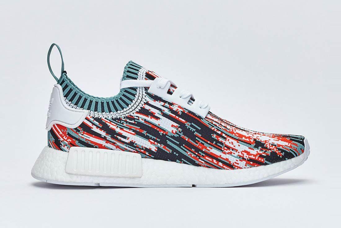 Sneakersnstuff X Adidas Nmd R1 Datamosh Pack 7