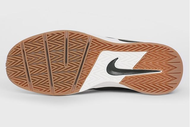 Nike Sb Project Ba Premium Sequoia Metallic Gold Outsole