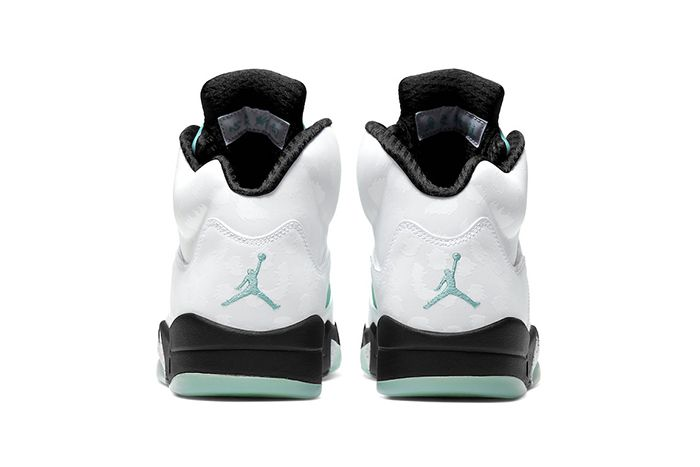 Air Jordan 5 Island Green Cn2932 100 Release Date Heel